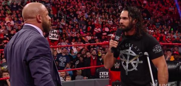 Goldberg and Brock Lesnar